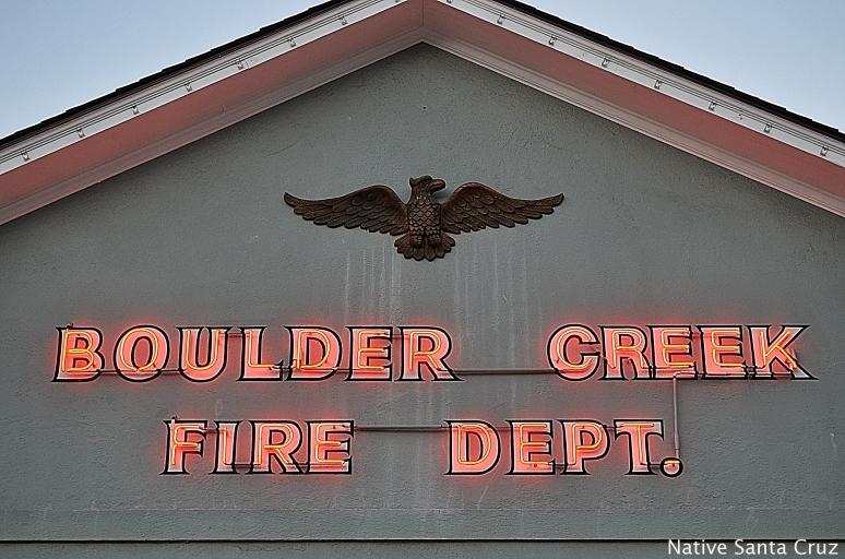 Boulder Creek Fire Dept