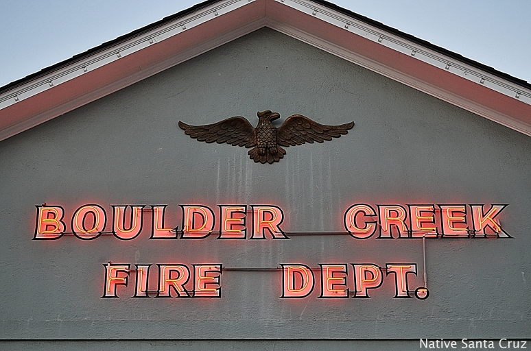 Boulder Creek Fire Dept