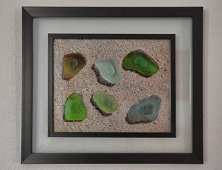 Sea Glass on Sea Glass