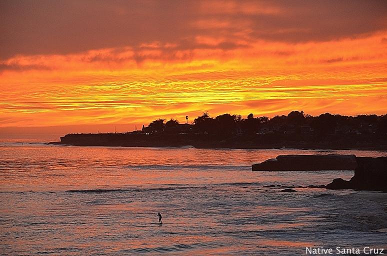 SUP at Sunset